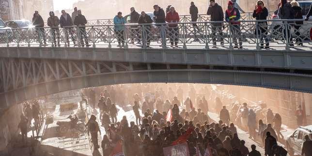 Dans toute la France, des manifestants moins nombreux mais déterminés