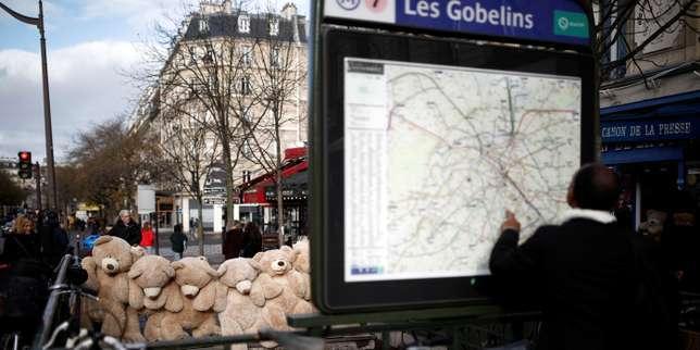 Grève: le trafic restera très perturbé à la SNCF et à la RATP dimanche et lundi