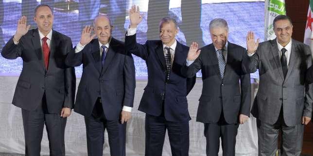 Présidentielle en Algérie: qui sont les cinq candidats en lice?