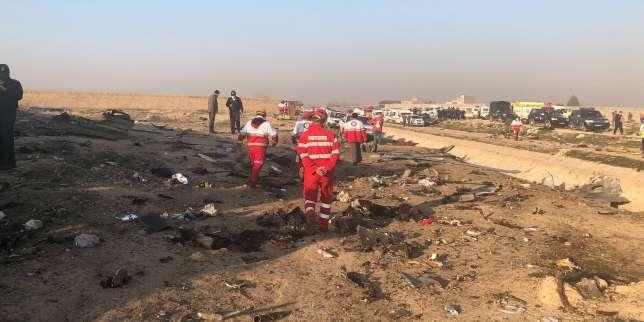 Un Boeing ukrainien s'écrase après son décollage à Téhéran, avec quelque 170personnes à bord
