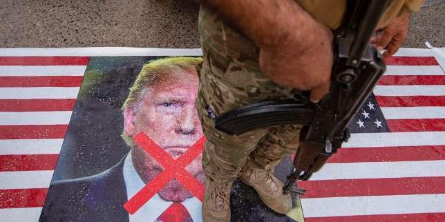 Les Américains, visés après les obsèques du général Soleimani, menacent Téhéran de représailles