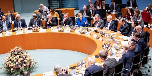 A Berlin, un appel fragile de la communauté internationale pour relancer la paix en Libye