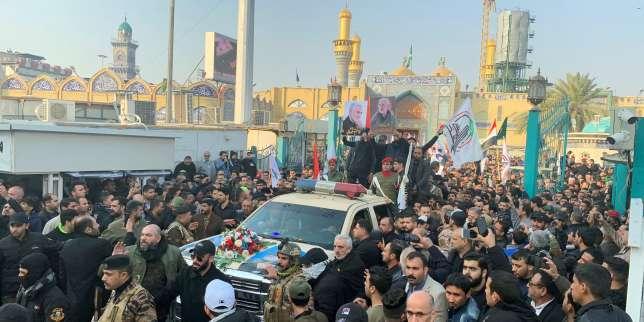 Mort du général iranien Soleimani : des funérailles à Bagdad, un nouveau raid aérien dans la nuit