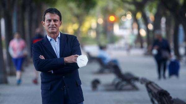 """L'ancien Premier ministre Manuel Valls """"récuse le procès qui est fait à la police en racisme, ou le terme de violences policières"""""""