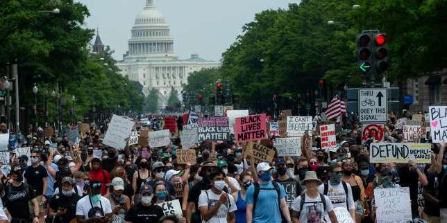 Violences policières: une mobilisation américaine massive et décentralisée