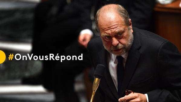#OnVousRépond : posez vos questions à Eric Dupond-Moretti, ministre de la Justice, invité du JT de 20h de France 2 dimanche soir