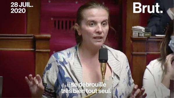 """VIDEO. Filiation : """"Son papa s'est barré, mon fils s'en sort très bien"""" : la députée Caroline Fiat demande à ses collègues de """"peser leurs mots"""" au sujet de la PMA"""