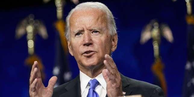 Présidentielle américaine: Joe Biden promet de sortir les Etats-Unis des «ténèbres» de l'ère Trump