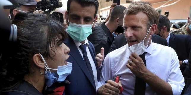 Emmanuel Macron à la foule libanaise: «Je comprends votre colère»