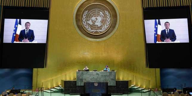 A l'ONU, Emmanuel Macron appelle à ne pas se satisfaire d'un «multilatéralisme des mots»