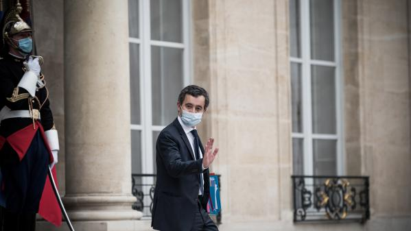 """REPLAY. Violences contre un producteur : """"Si la justice conclut à une faute, je demanderai la révocation des trois policiers"""", annonce Gérald Darmanin, invité du """"20heures"""" de France2"""