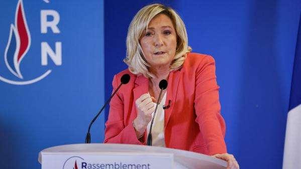 Politique : le nouveau discours deMarine Le Pen, qui entendélargir son électorat