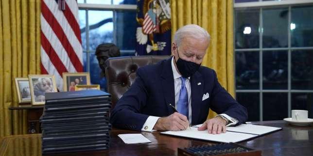 Que prévoit l'énorme plan de relance voulu par Joe Biden aux Etats-Unis?